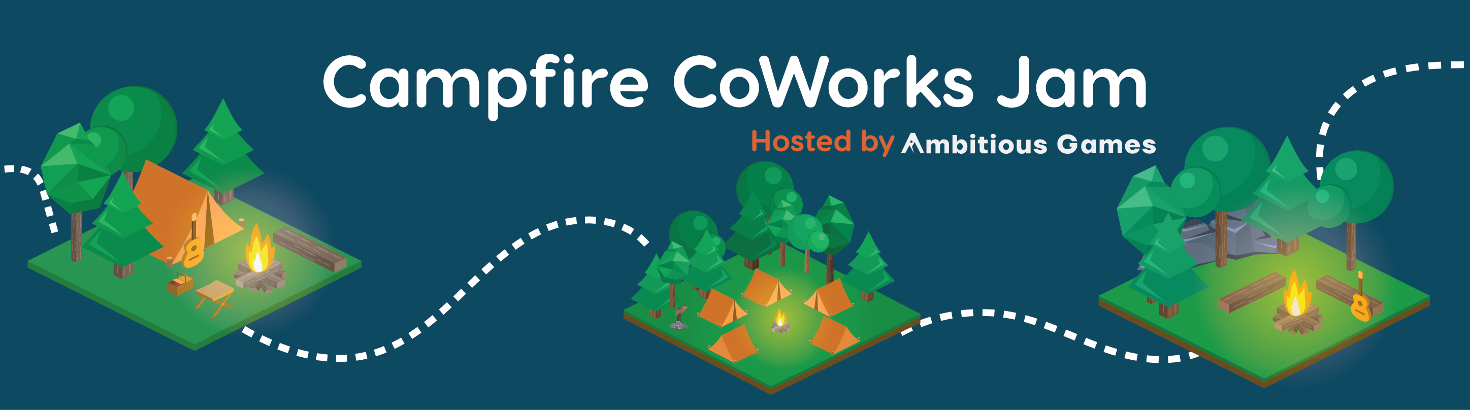 The Ambitious x Campfire Game Jam